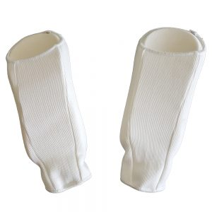 Arm guard (back) - white