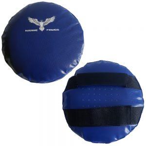 Round Hand-Held Shields (PU) - Blue