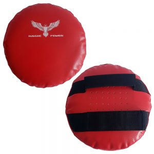 Round Hand-Held Shields (PU) - Red