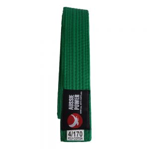 Single-Wrap Belt - Green