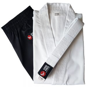 Karate Uniform - Black/White