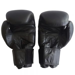 16oz Leather Boxing Gloves - Hand Moulded