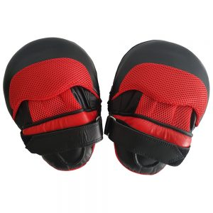 PU Curved Focus Pads - Red/Black
