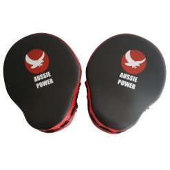 PU Curved Focus Pads - Red/Black