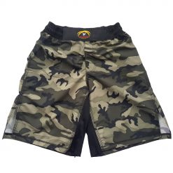 MMA Shorts - Green Camo