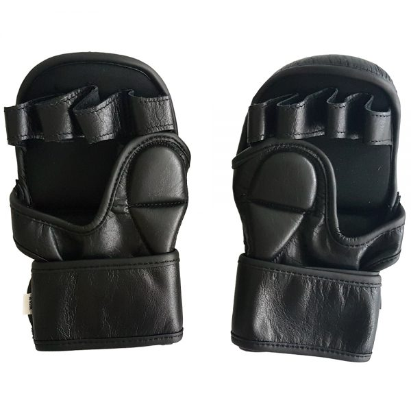 MMA Grappling Gloves - Black