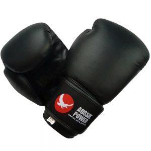 PU Boxing Gloves (Black)