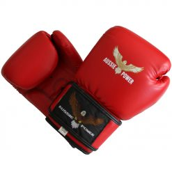 12oz Boxing Gloves (PU) - Red